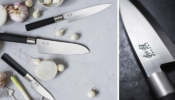 KAI Wasabi Black Steak kés készlet 4db-os