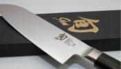 KAI Shun Classic Santoku szakácskés 18 cm-es damaszk