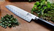 KAI Shun Classic Santoku kés 18 cm-es damaszk
