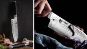 KAI Shun Classic Santoku kés 14 cm-es damaszk