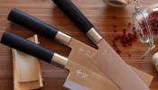 KAI Wasabi Black szakácskés készlet 5db-os JP