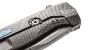 LionSteel ROK Aluminium zsebkés fekete