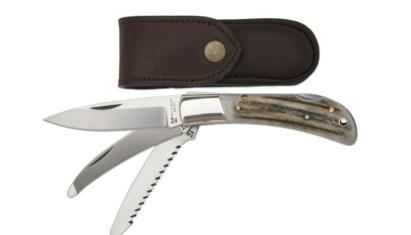 NN-Knives Huntsman vadász zsebkés 3-pengés agancs