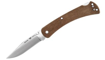 Buck Folding Hunter Slim EDC Pro 110 Brown EDC zsebkés
