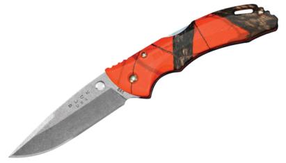 Buck 285 Bantam BLW Mossy Oak Blaze Orange Camo zsebkés
