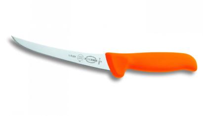 Dick MasterGrip Csontozókés ívelt 1/2 flexi 13 cm-es narancs