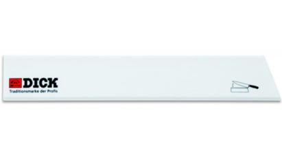 Dick pengevédő széles 26 cm-es fehér