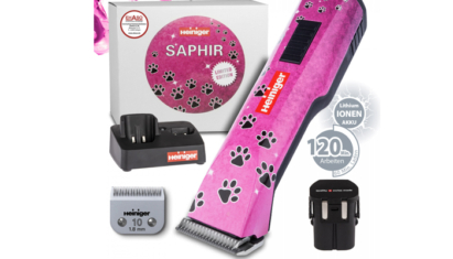 Heiniger Saphir Pink 10# fej 2db akksi