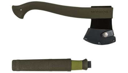 Morakniv Axe Knife Outdoor Kit MG Olive Green outdoor szett