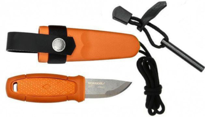 Morakniv Eldris Neck knife Burnt Orange