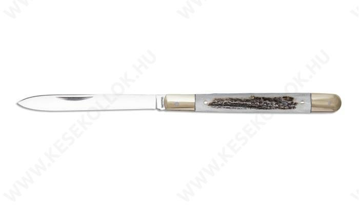 NN-Knives Szalonnázó Zsebkés agancs