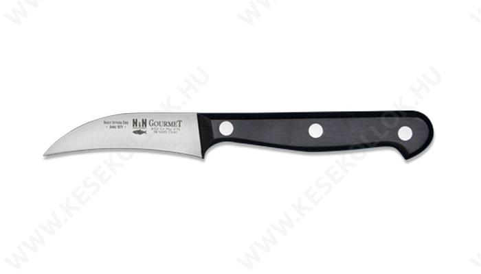 NN-Knives Gourmet hámozókés ívelt 7 cm-es