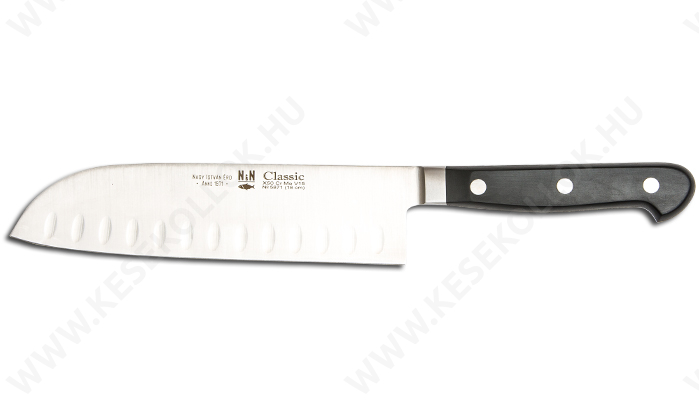 NN-Knives Classic Santoku kés L.Ü.18 cm-es