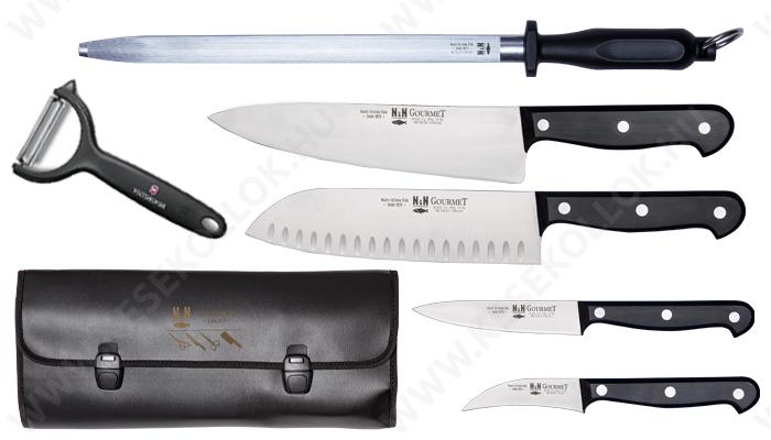 NN-Knives Gourmet Tanuló I. Szakácskés készlet 6db.-os