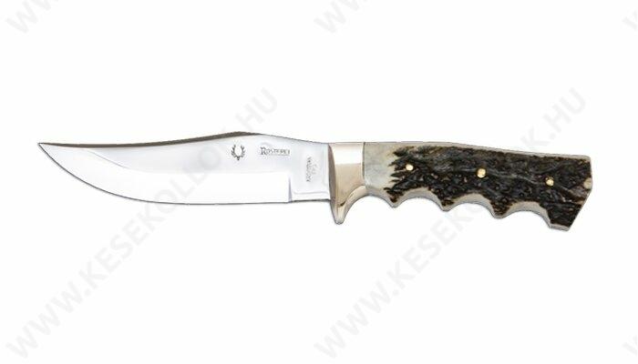 NN-Knives Ívelt vadászkés 13 cm-es agancs