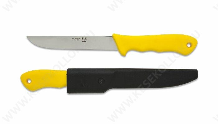 NN-Knives Horgászkés 15 cm-es sárga
