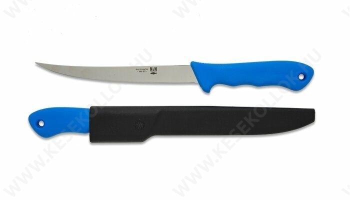 NN-Knives Horgász filézőkés 18 cm-es kék