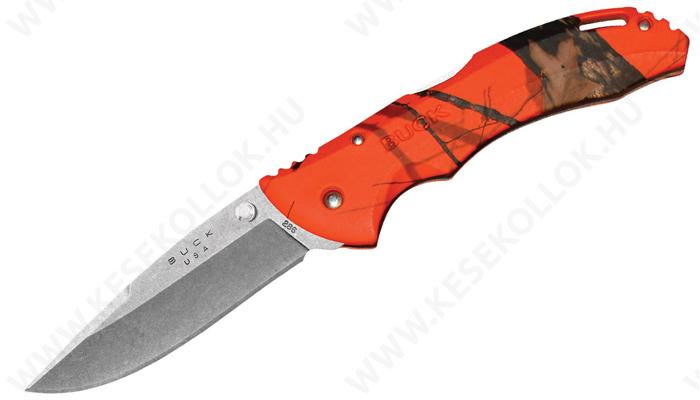 Buck 286 Bantam BHW Mossy Oak Blaze Orange Camo zsebkés