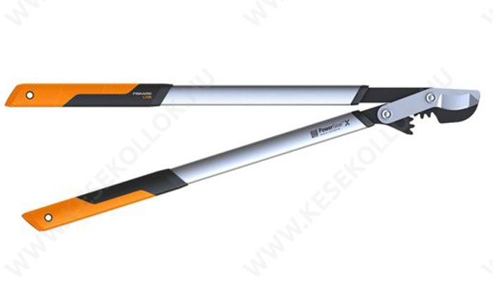 Fiskars PowerGearX fém fogaskerekes ágvágó (L)