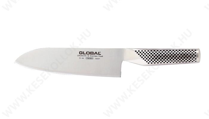 Global Santoku szakácskés 18 cm-es
