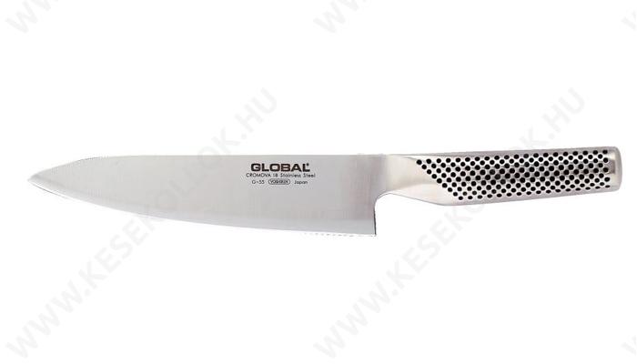 Global Szakácskés 18 cm-es
