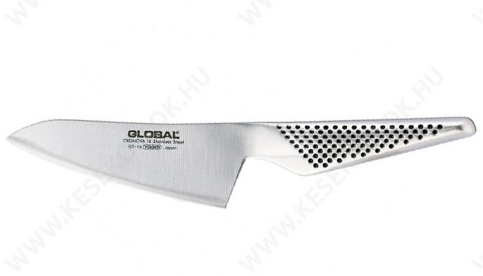 Global Oriental Santoku szakácskés 12 cm-es