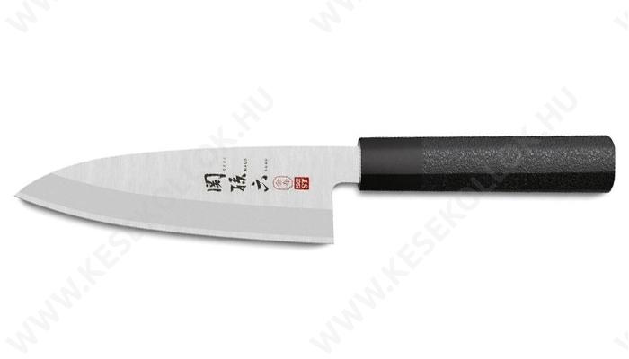 KAI Seki Magoroku Hekiju Deba szakácskés 15 cm-es balkezes