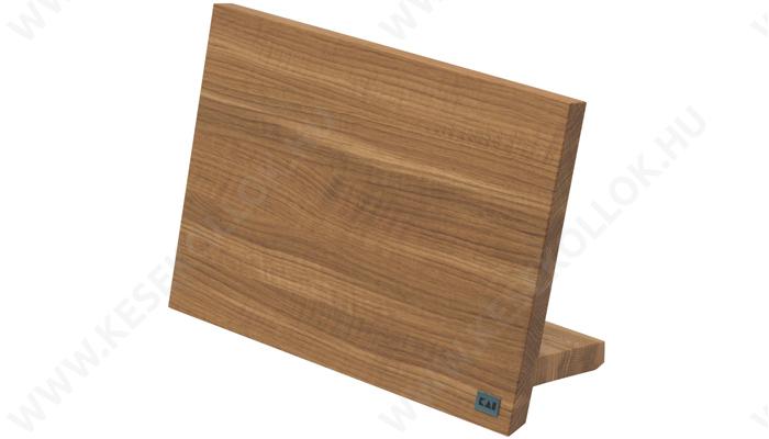 KAI Mágneses késtartó tölgyfa