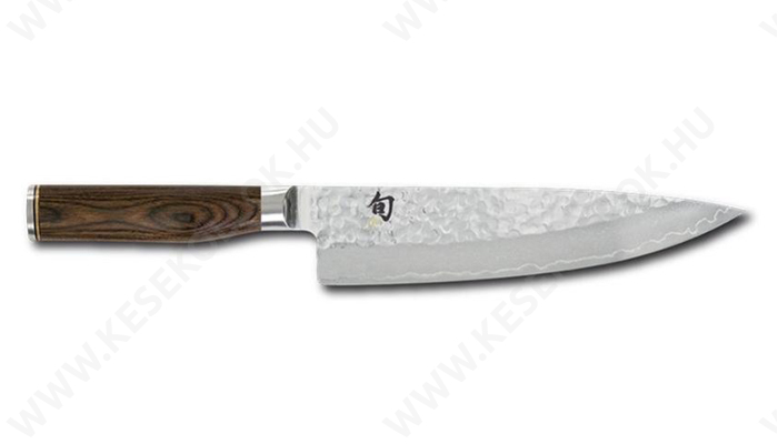 KAI Shun Premier TiM Mälzer szakácskés 20 cm-es damaszk