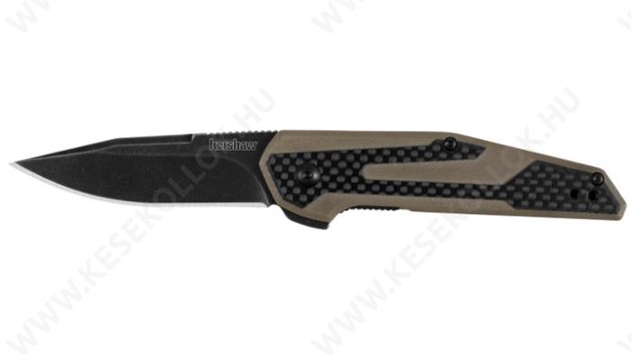 Kershaw Fraxion Tan outdoor kés