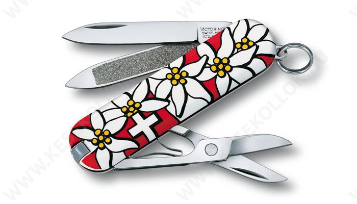 Victorinox Classic zsebkés edelweiss
